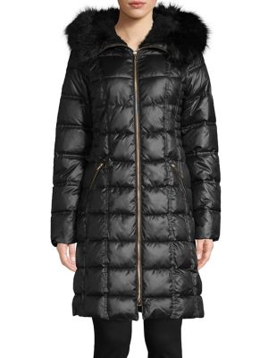 01f3a1e7915c QUICK VIEW. Laundry by Shelli Segal. Faux-Fur Trim Therma Tech Parka
