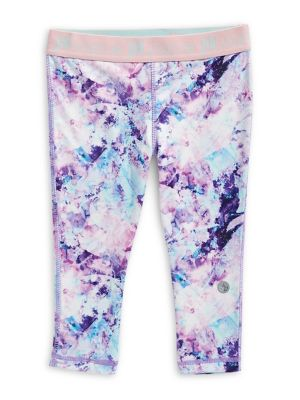 8ff9b8c3e473d QUICK VIEW. Jill Yoga. Little Girl's Printed Capri Leggings