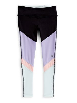 0f606be91fe1f QUICK VIEW. Jill Yoga. Little Girl's Colourblock Leggings
