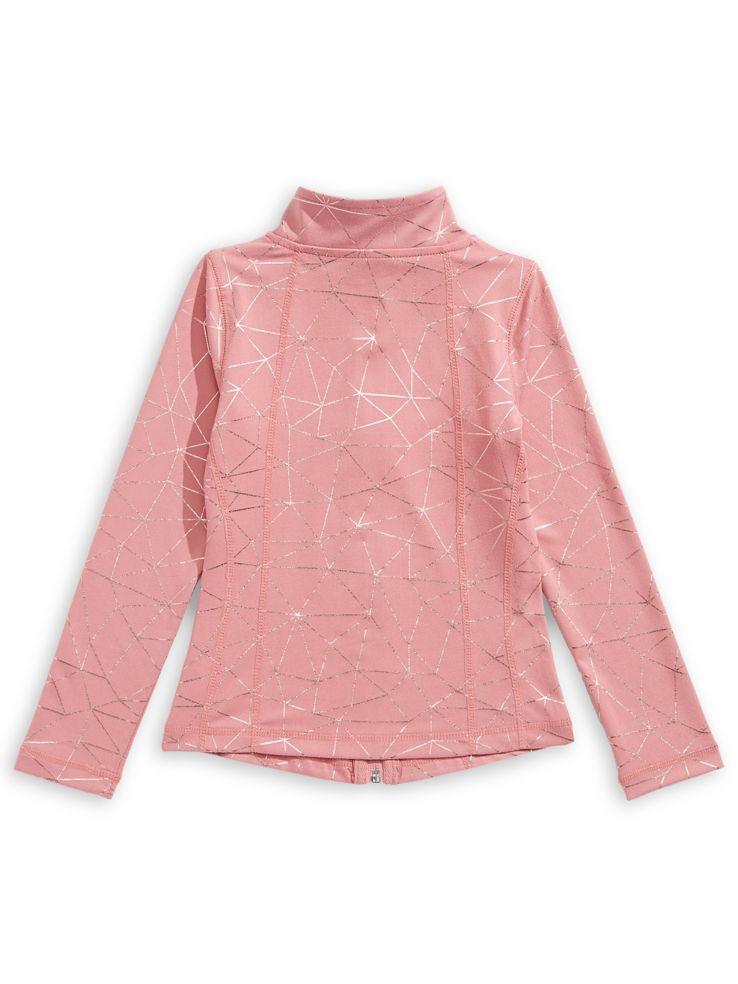 super populaire 03260 4fe82 Jill Yoga Veste de yoga à glissière pleine longueur pour fille