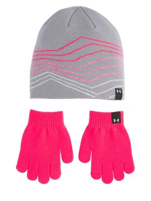 1fb72f35d7a Kid s Two-Piece Beanie and Glove Set STEEL. QUICK VIEW. Product image