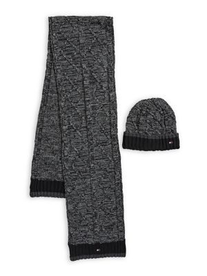 f992eee26ed6 QUICK VIEW. Tommy Hilfiger. Colourblock Two-Piece Scarf   Beanie Set