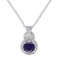 In Season Jewelry Collier avec Pendentif en Forme de Croix plaqu/é Or 18 carats pour Fille et Enfant 40,6 cm