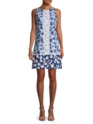 b5edf5a5c QUICK VIEW. Eliza J. Sleeveless Print Shift Dress