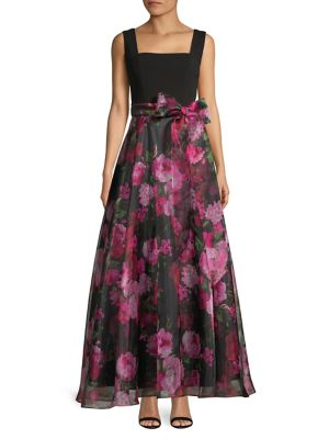 166a45850e1 Product image. QUICK VIEW. Eliza J. Floral Squareneck Ball Gown