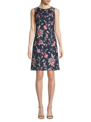 7d72569bd0 QUICK VIEW. Eliza J. Floral Embroidered Shift Dress