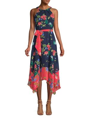 c322bfb0a03 Product image. QUICK VIEW. Eliza J. High-Low Floral A-line Dress