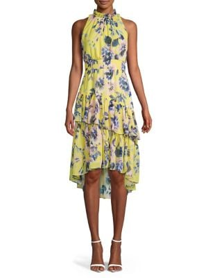 08e01d2781f QUICK VIEW. Eliza J. Ruffled Floral A-line Dress