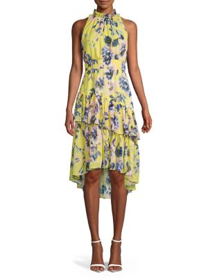 c0d958be QUICK VIEW. Eliza J. Ruffled Floral A-line Dress