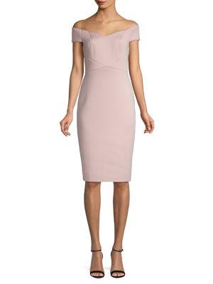 7c2244569873 QUICK VIEW. Eliza J. Off-The-Shoulder Sheath Dress