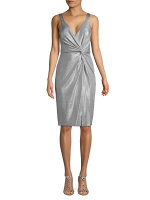 5eff5c7c90ce5 QUICK VIEW. Eliza J. Metallic Sheath Dress
