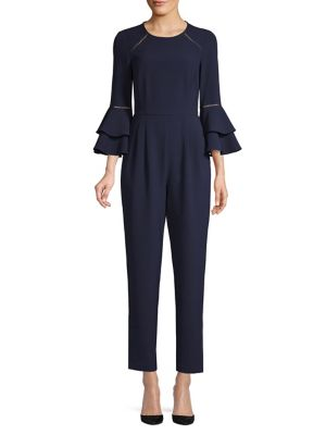 b1bff13f15ab QUICK VIEW. Eliza J. Tiered Bell-Sleeve Jumpsuit