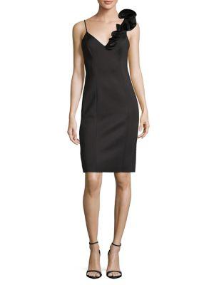 7da3cbdcaca17b QUICK VIEW. Eliza J. Ruffled Sleeveless Sheath Dress