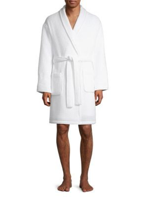 93140bf6ee Turkish Cotton Waffle Robe WHITE. QUICK VIEW. Product image