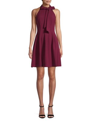 Bow Fit & Flare Dress by Vince Camuto