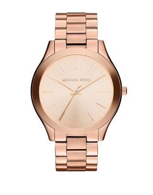 Michael Kors Ladies Slim Runway Mid Size Watch