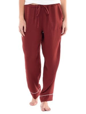 45f480d1ae Product image. QUICK VIEW. Paper Label. Olivia Crinkle Satin Pyjama Pants