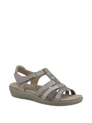 2883c5f4eebe69 QUICK VIEW. Planet By Earth. Amelie Leather Sandals