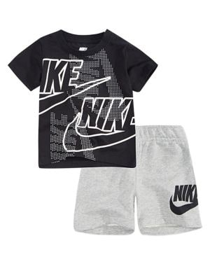 5e14cb8c05491a Product image. QUICK VIEW. Nike. Baby Boy s Futura 2-Piece Logo Tee   Shorts  Set