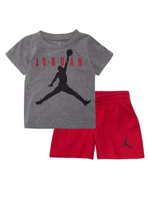 7877c25ed95 Little Boy's Two-Piece Jumpman Air Short Set RED. QUICK VIEW. Product  image. QUICK VIEW. Jordan