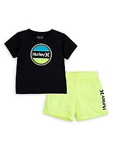 Blue Seven Set T-Shirt Shorts Bambino