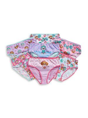 1fd5da750cc6 QUICK VIEW. Novel Teez. Little Girl's Pack of Seven Cotton Panties