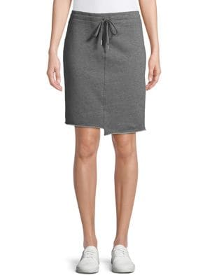 9d483308cd Asymmetrical Cotton Blend Skirt