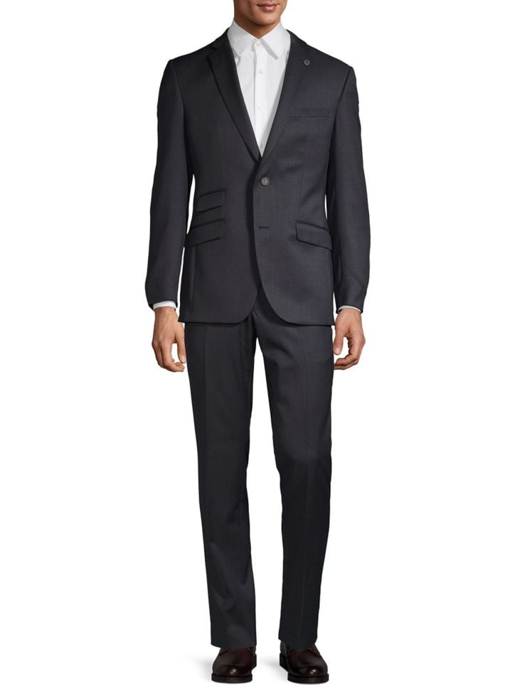 c572d9e179c067 Ted Baker No Ordinary Joe - Joey Grid Check Wool Suit - thebay.com