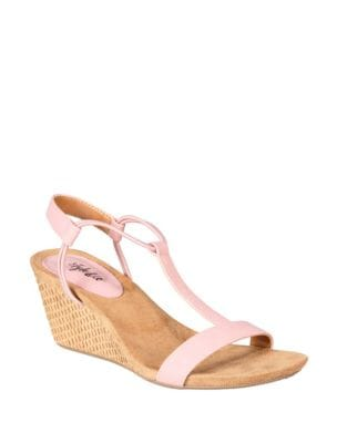 07263bf7341c15 Mulan Wedge Sandals PINK LATTE. QUICK VIEW. Product image. QUICK VIEW.  Style   Co.