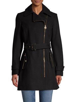 c466e0e2ba2 QUICK VIEW. Michael Michael Kors. Asymmetric Walker Coat