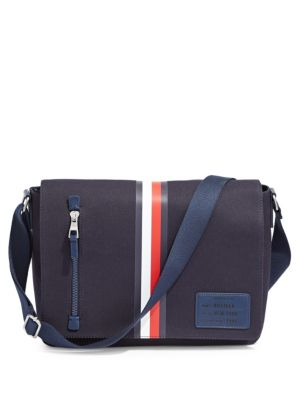 01014b08aa Harrison Canvas Messenger Bag NAVY. QUICK VIEW. Product image