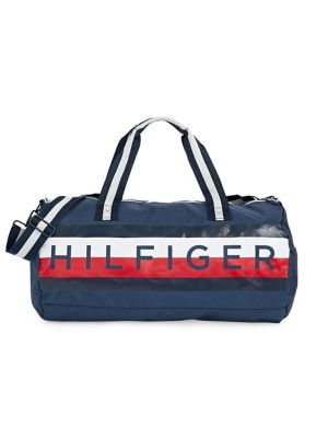 69307e36a80 QUICK VIEW. Tommy Hilfiger. Logo Global Stripe Duffel Bag