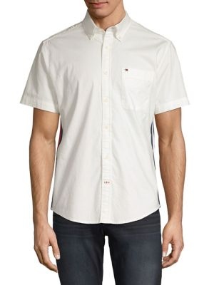 08485d45 Tommy Hilfiger | Men - Men's Clothing - Casual Button-Downs - thebay.com