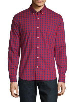 e655cf35 Tommy Hilfiger | Men - Men's Clothing - Casual Button-Downs - thebay.com