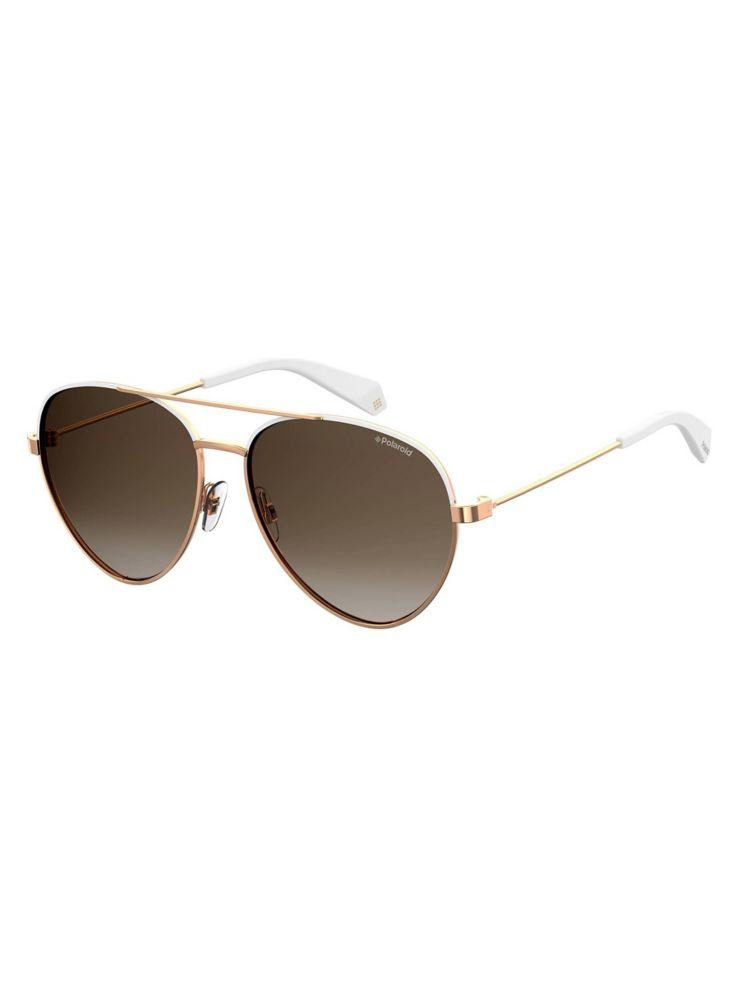 0f64ee209f15f Polaroid - 59mm Polarized Aviator Sunglasses - thebay.com