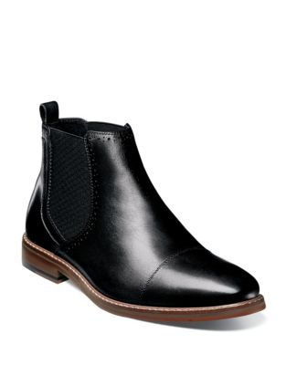 23rd Avenue Leather And Suede Chelsea Boots by Columbia