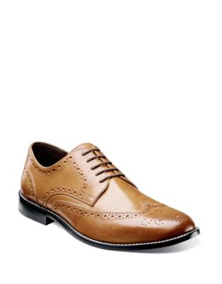 a2c952f1629 QUICK VIEW. Nunn Bush. Nelson Leather Wingtip Shoes