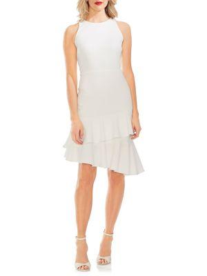 520d2b327d1 QUICK VIEW. Vince Camuto. Ruffle-Trimmed Sheath Dress