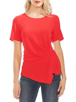 af6ead455 Product image. QUICK VIEW. Vince Camuto. Asymmetrical Gathered Top