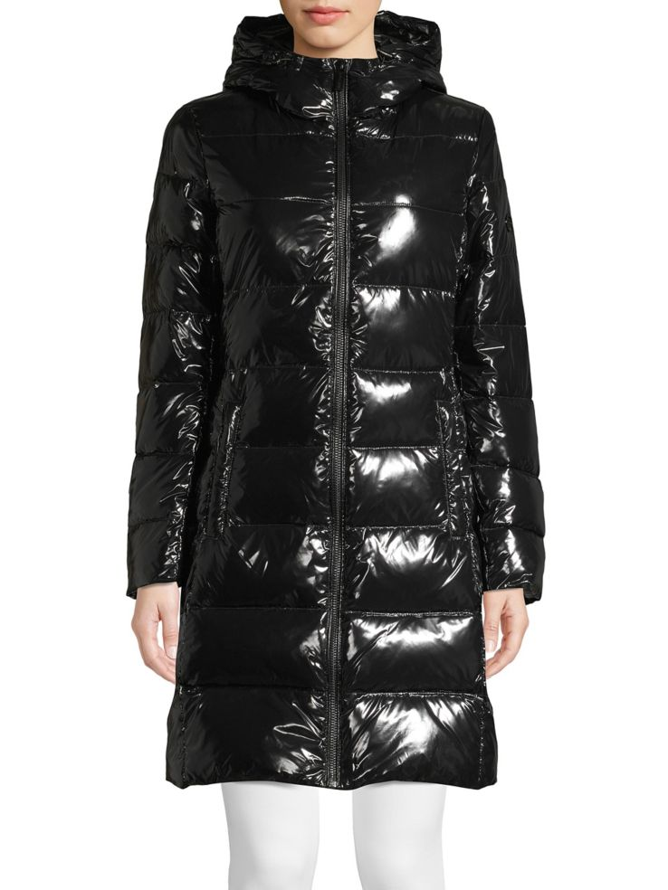 Long Puffer Down Coat by Michael Michael Kors