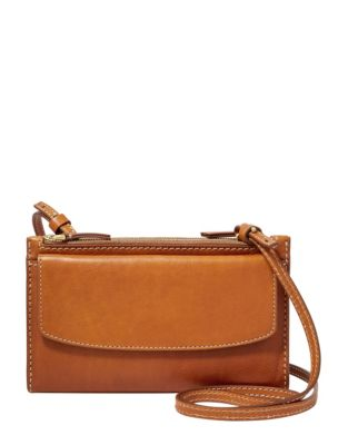 20b0905db49824 Product image. QUICK VIEW. Fossil. Sage Leather Crossbody Bag