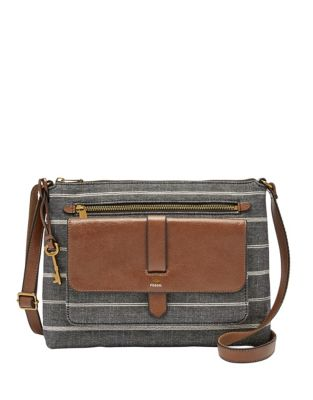 9297186abb626 Kinley Crossbody Bag CHAMBRAY. QUICK VIEW. Product image. QUICK VIEW. Fossil