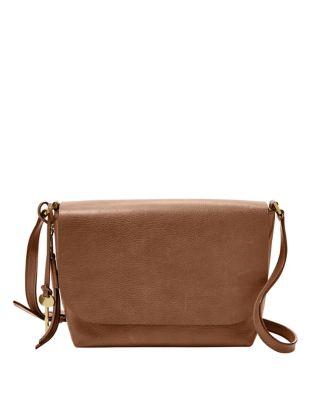 Maya Leather Crossbody Bag by Fossil