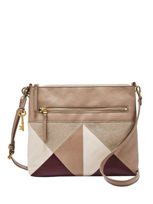 Fiona Leather Crossbody Bag CHAMPAGNE. QUICK VIEW. Product image. QUICK  VIEW. Fossil 3cf69e860e