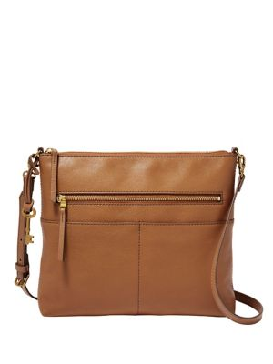 a4bae9527d QUICK VIEW. Fossil. Large Fiona Leather Crossbody Bag