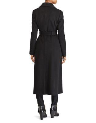 Belted Long Coat by Lauren Ralph Lauren