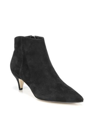 67e0c0a9e Kitten Heel Ankle Booties BLACK LEATHER. QUICK VIEW. Product image. QUICK  VIEW. Sam Edelman