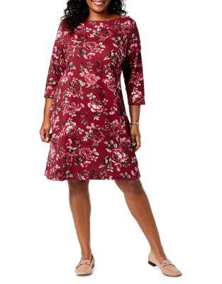Karen Scott Women Womens Clothing Plus Size Dresses
