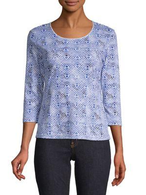 4c4e3e751f848 Karen Scott | Women - Women's Clothing - Petites - Tops - thebay.com