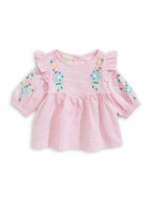 e1a98e190 QUICK VIEW. First Impressions. Baby Girl's Embroidered Top